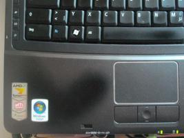 Foto 9 Acer TravelMate 5520G, AMD 2x2.2GHz, 2GB RAM, 250GB Festplatte, Ati Radeon HD2600 1280MB, Gamer