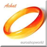 Achat Armreif -orange