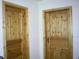 Naturholztüren im ganzen Haus