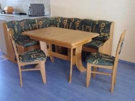 Achtung, reduzierter Preis! Eckbankgruppe Buche ausziehbar mit Tisch ausziehbar