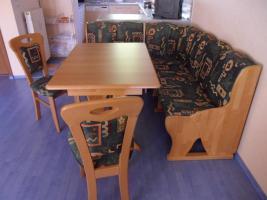 Foto 2 Achtung, reduzierter Preis! Eckbankgruppe Buche ausziehbar mit Tisch ausziehbar