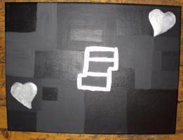 Foto 2 Acrylbild Sprungturm der Herzen