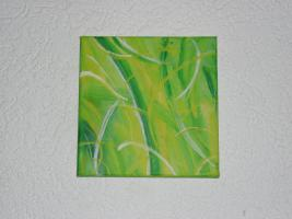 Acrylgemälde / Bild / Keilrahmen / Bambus / BAMBOO