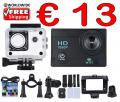 Action Cam 12MP 1080p FullHD WiFi nur € 13 frei Haus