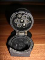 Foto 2 Adapter kurz AHK 13/7 für Anhängerkupplung PKW 13 auf 7 Pol
