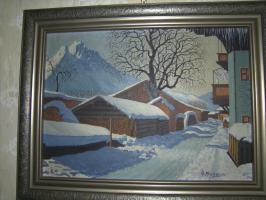 Advents-Gestecke und Weihnachtsbäume mit Christbaumschmuck Eckart