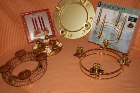 Adventskranzgestelle, dekorative