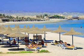 Foto 4 ÄGYPTEN ROTES MEER Hotel Pensee Azur direkt am Sandstrand