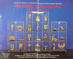 Ägyptische Figurensammlung aus dem Haus Franklin Mint
