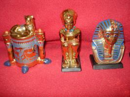 Foto 5 Ägyptische Figurensammlung aus dem Haus Franklin Mint