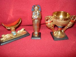 Foto 10 Ägyptische Figurensammlung aus dem Haus Franklin Mint