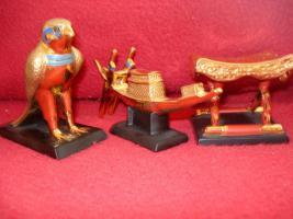 Foto 12 Ägyptische Figurensammlung aus dem Haus Franklin Mint