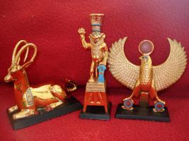 Foto 13 Ägyptische Figurensammlung aus dem Haus Franklin Mint