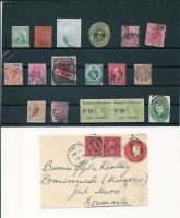 Foto 3 Ältere Briefmarken aus Überseegebieten