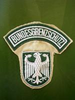 Ärmelabzeichen  des   Bundesgrenzschutz
