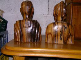 Foto 2 Afrikanische Holzfiguren