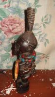 Foto 4 Afrikanische Stammesfiguren aus dem Kongo