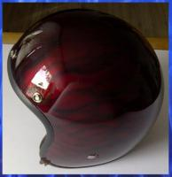 Airbrush Helm! Ghost Airbrush mit dem Design Flames!
