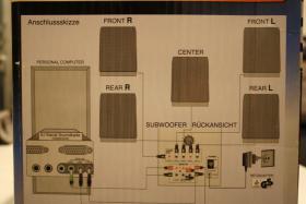Foto 2 Aktiv Soundsystem mit Power Subwoofer