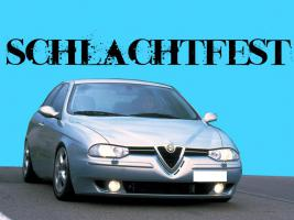 Alfa 156 2,5 V6 Schlachtfest silber Motor Getriebe etc.
