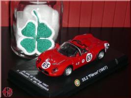 Alfa Romeo 1:43 Modellauto 33.2 Fleron Rennwagen Vitrinenmodell