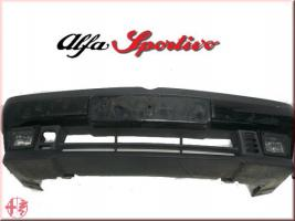 Alfa Romeo 155 Stoßstange vorne schwarz nero black Frontstoßstange