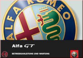 Alfa Romeo GT 2008 - 2009 Bedienungsanleitung