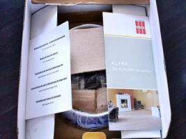 Foto 4 Alfra Feuer Tischfeuerschale Duo neu und original verpackt, Edelstahl Schale, Bio Ethanol Ofen