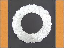 Foto 5 Alles in Silber – (Korb, Schleifen, Blumenstecker, Kranz, Kerzen)