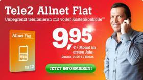 Allnet Flat für 9,95 mtl! Für Jeden!