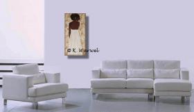 Foto 3 Alone - Acrylgemälde 80x40cm original unikat