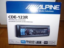 Foto 4 Alpine Radio + Alpine 2 Wege Lautsprecher + Magnaflow Endtopf