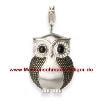Alraune Jewelry Eule Charms Anhänger 925er Silber