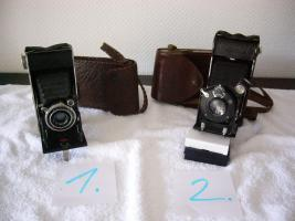 Alte Fotoapparate, Balgengeräte