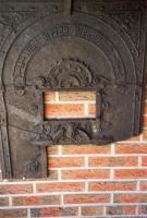 Alte Guss-Ofen-Tür