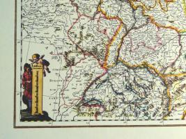 Foto 4 Alte Karte Deutschland um 1665  (B037)