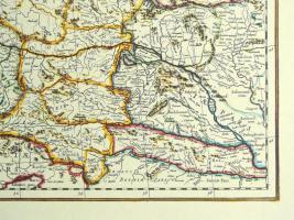 Foto 5 Alte Karte Deutschland um 1665  (B037)