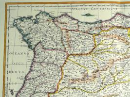 Foto 2 Alte Karte von Spanien 1634 (B039)