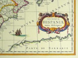 Foto 5 Alte Karte von Spanien 1634 (B039)