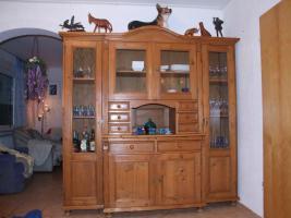 Alte Kiefer Wohnzimmer Buffet Schrank