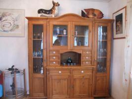 Alte Kiefer Wohnzimmer Schrank