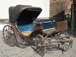 Alte Pferdekutsche VICTORIA um 1900 Preis auf Anfrage