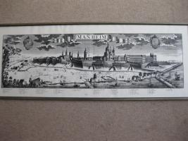 Alte Stadtansicht von Manheim