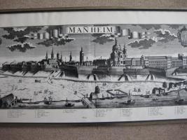 Foto 2 Alte Stadtansicht von Manheim