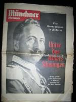 Alte original Münchner Illustrierte von 1953