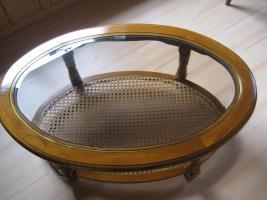 alter couchtisch in brandenburg buche holz oval. Black Bedroom Furniture Sets. Home Design Ideas