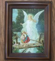 Altes Engelbild Aniol Stroz Original