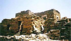 Altes Natursteinhaus auf Andros/Griechenland