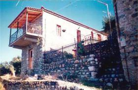 Altes Natursteinhaus nahe Kalamata/Griechenland