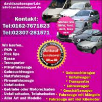 Altwagen Ankauf Audi BMW Opel Honda Mazda NRW